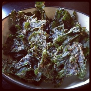 Kale Chips- 4 ways!