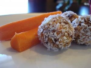 #4 Carrot Cake Balls