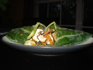 Cleanse Recipes-Veggie Wraps