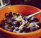 Blueberry Quinoa Breakfast Bowl