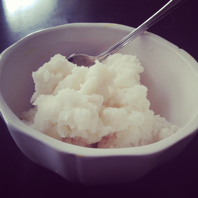 Paleo Snow Ice Cream
